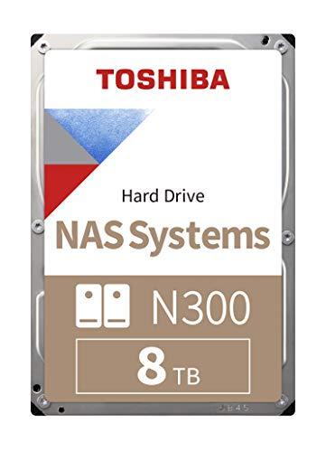 """Disque dur 3.5"""" Toshiba N300 NAS HDWG180UZSVA - 8 To"""