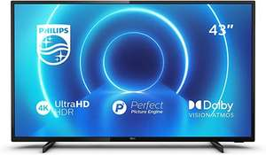 """TV 43"""" Philips 43PUS7505 - 4K, LED, HDR10+ / HLG, Dolby Vision, Micro Dimming, Smart TV"""