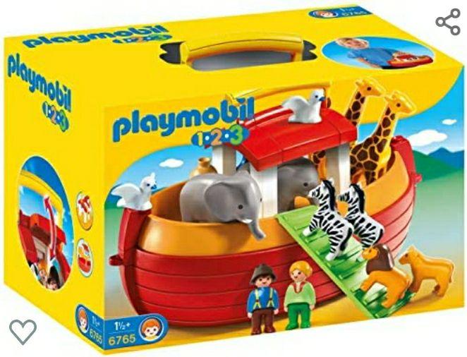 Jouet Playmobil Arche de Noé Transportable (6765)