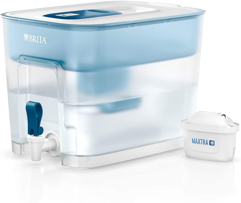 Filtre à eau Brita Flow Optimax (8.2L) + Cartouche Maxtra + 1 Cartouche Bleue