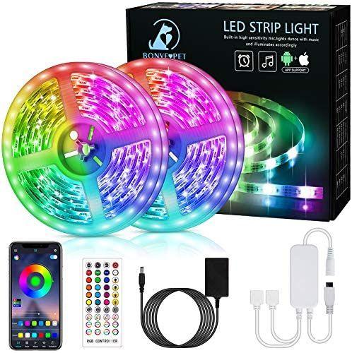 Ruban LED RGB 5050 Bonve Pet - 12m (Vendeur Tiers)