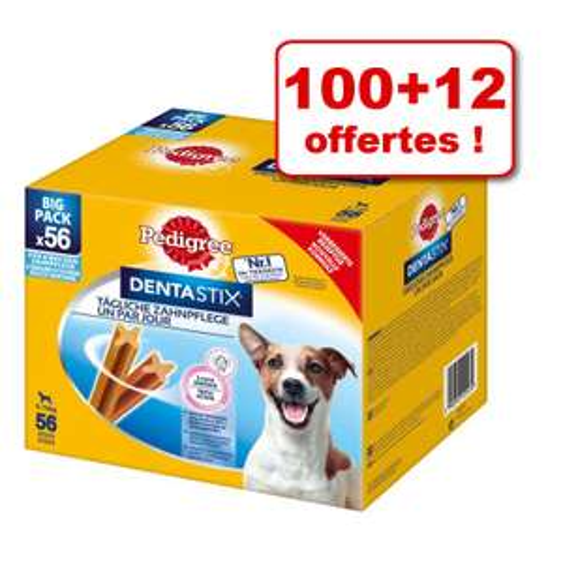 Boîte de 112 Friandises Pedigree Dentastix Daily Oral Care Maxi pour grand chien