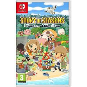 Story of Seasons : Pioneers of Olive Town sur Nintendo Switch