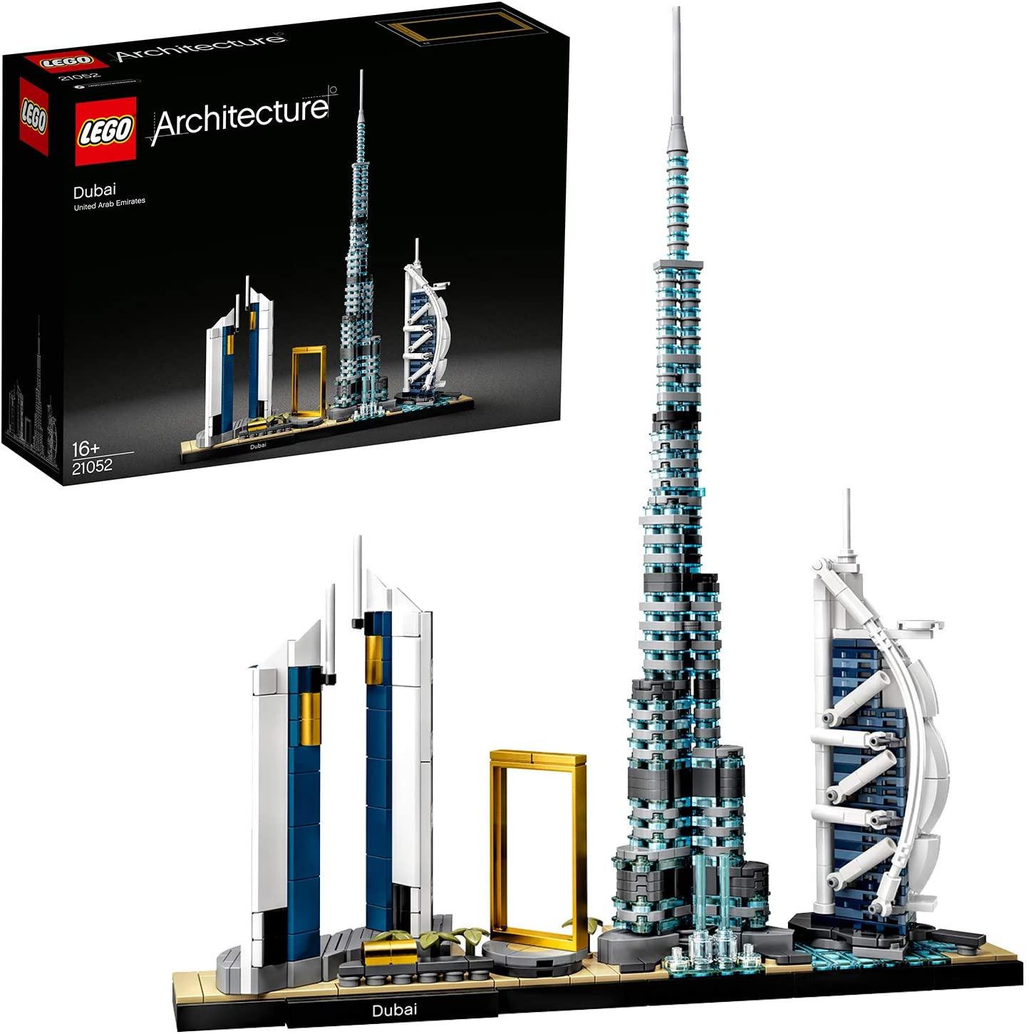 Jeu de construction Lego Architecture - Dubaï set (21052)