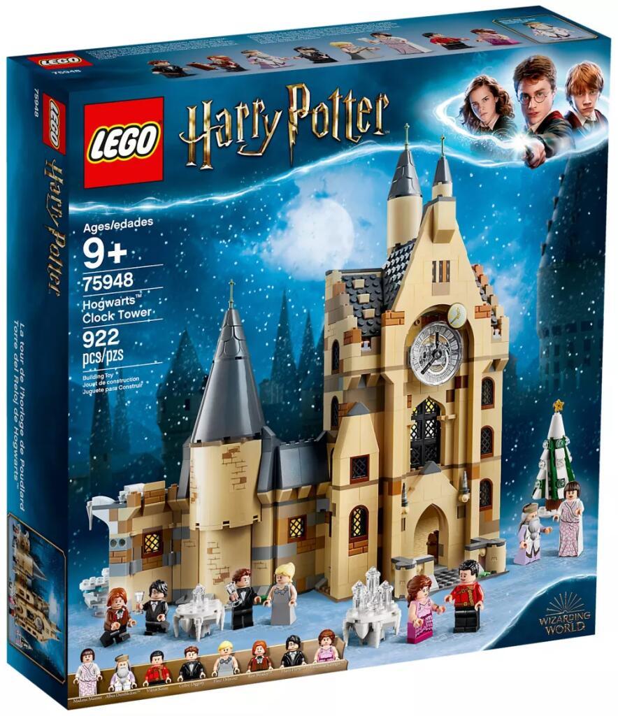 Jeu de construction Lego Harry Potter - La Tour De L'horloge De Poudlard n°75948