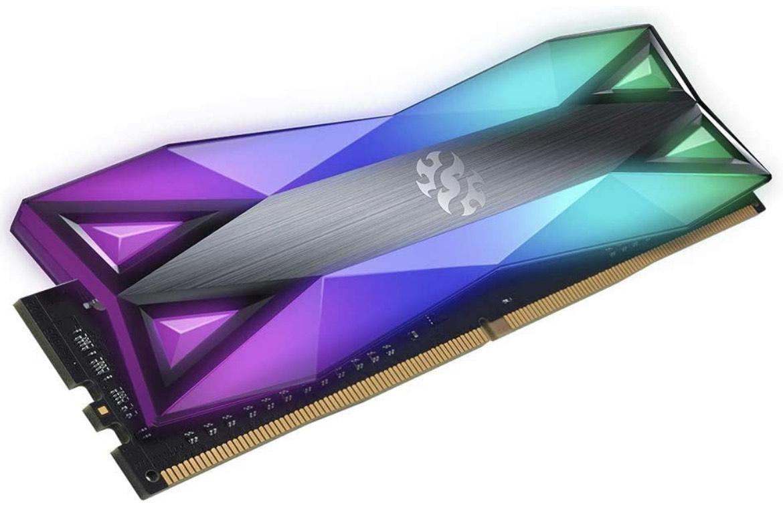 Kit mémoire RAM Adata XPG Spectrix D60G (AX4U320038G16-DT60 - 16Go (2x8Go), DDR4, 3200MHz, CL16