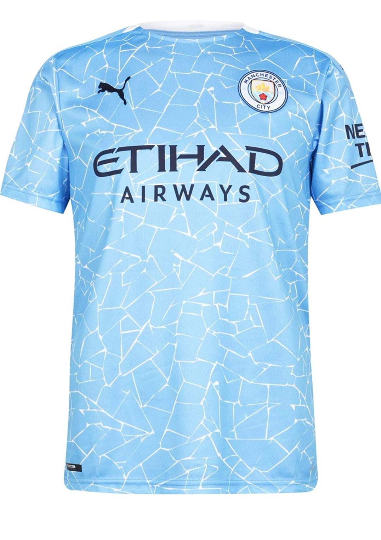 Maillot 20/21 Domicile Manchester City FC Replica pour Homme - Diverses tailles