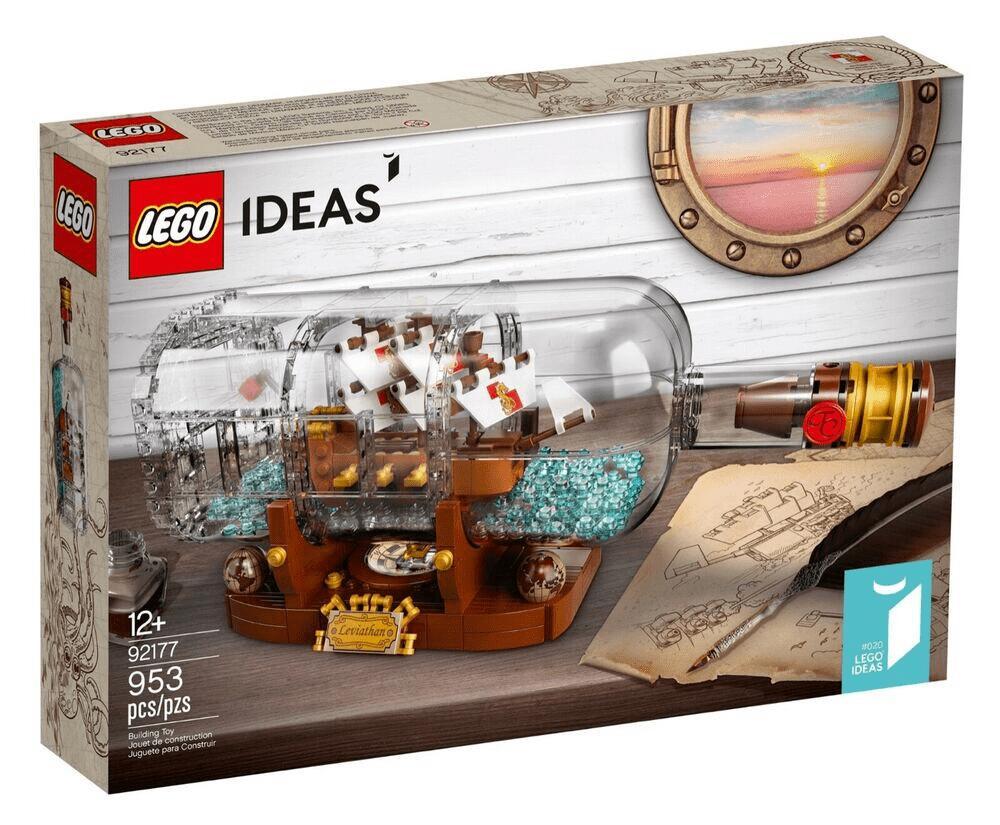 Jeu de construction Lego Ideas - Le bateau en bouteille (92177)