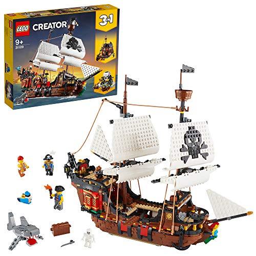 Jeu de construction Lego Creator 31109. Le bateau pirate