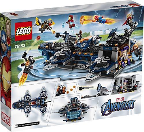 Jeu de construction Lego L'héliporteur des Avengers Marvel Super Heroes (76153)