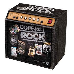 Coffret Rock - 8 DVD + 1 T-shirt (Taille L)