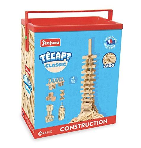 Jeu de construction Jeujura Técap Classic - 200 Pieces