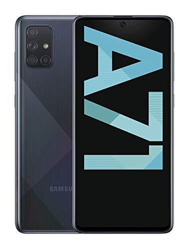 "Smartphone 6.7"" Samsung Galaxy A71 - Super Amoled, 6 Go RAM, 128 Go, Noir"