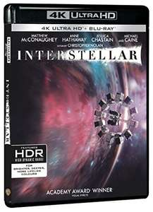 Blu-ray 4K Interstellar + Blu-Ray
