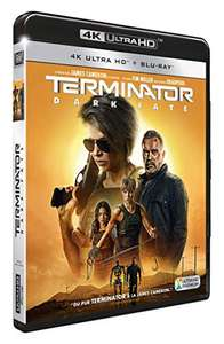 Blu-Ray 4K Terminator Dark Fate