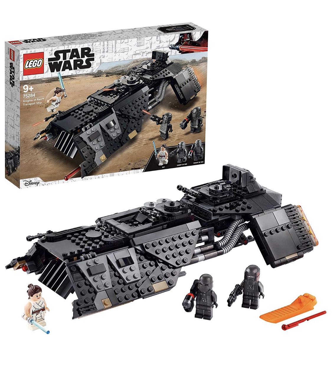Jouet Lego Star Wars Vaisseau de transport des Chevaliers de Ren 75284