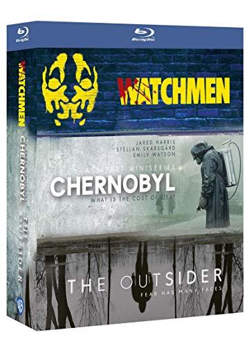 Coffret Blu Ray Intégrale de 3 Séries HBO : Chernobyl + Watchmen + The Outsider