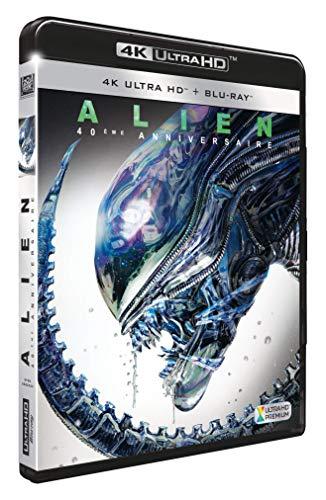 Blu-ray 4K Alien + Blu-ray - Edition 40ème Anniversaire