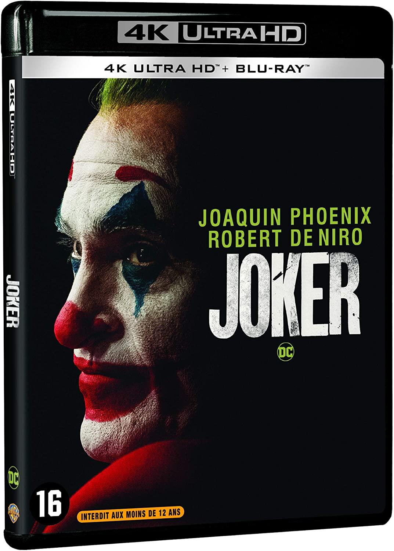 Sélection de DVD & Blu-ray en promotion - Ex : Blu-ray 4K UHD + Blu-ray Joker