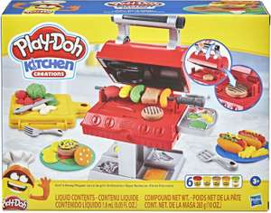 Kit de pâte à modeler Play-Doh Kitchen - Le Roi du Grill (F0652)