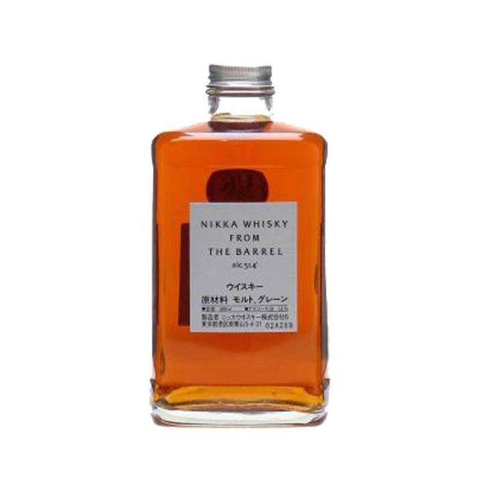 Whisky japonais Nikka From the Barrel 51.4° - 50 cl