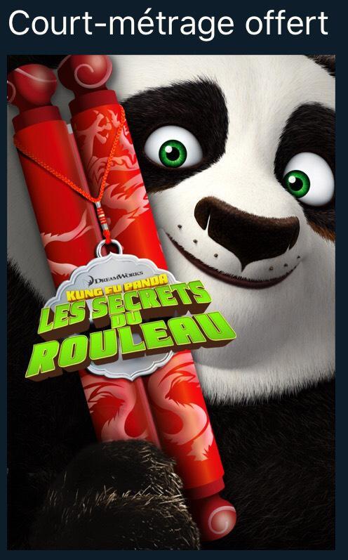 Court-métrage Kung Fu Panda : Les secrets du rouleau gratuit