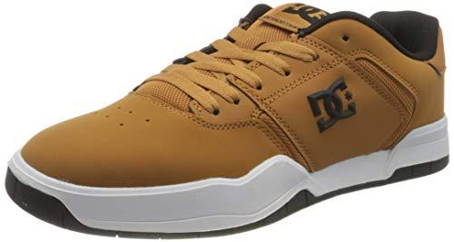 Chaussures DC Shoes Central (cuir, différents coloris et tailles) en promotion - Ex : camel, taille 41