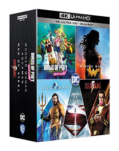 Coffret Blu-ray 4K UHD + Blu-ray DC Universe : Collection de 5 Films