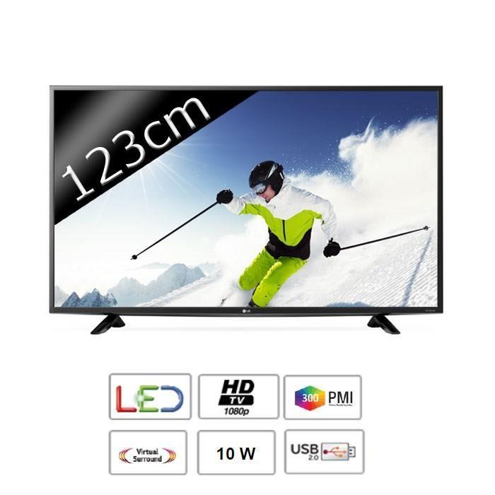 """Sélection d'articles TNT HD en promo - Ex : TV LED 49"""" LG 49LF5100"""