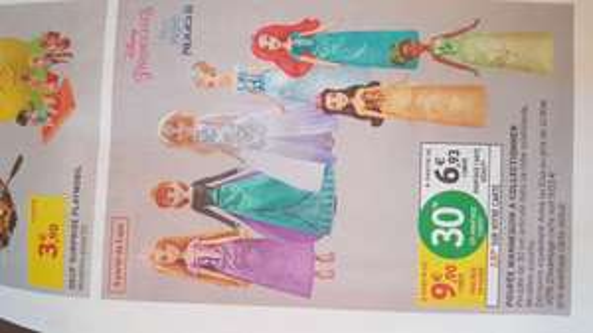 Poupée Mannequin Princesse Disney - 30cm, Divers modèles (via 2.97€ sur la carte fidélité) - Sélection de magasins
