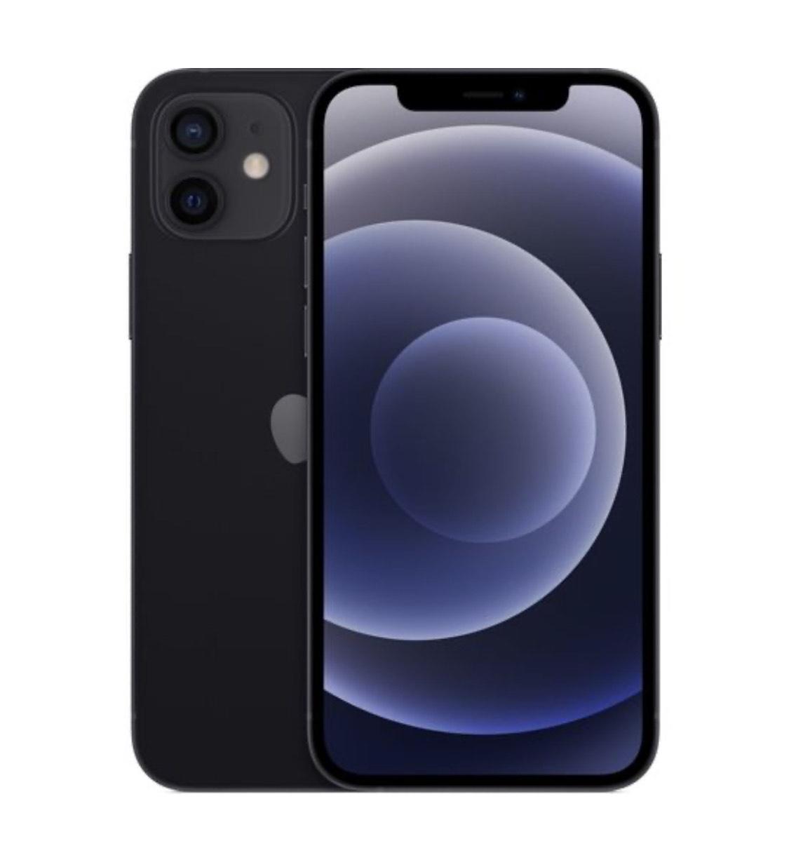 """Smartphone 6.1"""" Apple iPhone 12 - 64 Go, Noir"""