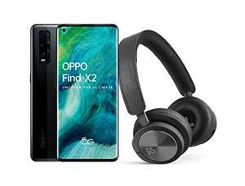 "Smartphone 6.5"" Oppo Find X2 Neo 5G - full HD+, SnapDragon 765G, 12 Go de RAM, 256 Go + Casque audio sans-fil Bang & Olufsen H8i"