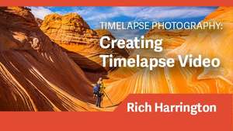 Cours en ligne gratuit pour créer des vidéo Timelapse (Dématérialisé - Anglais)