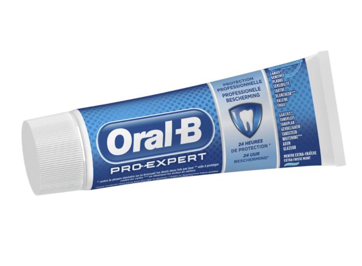 Sélection de dentifrices Oral-B en promotion (Via BDR) - Ex : Dentifrice Oral-B Pro Expert Multi Protection 75 ml (La Châtre 36)