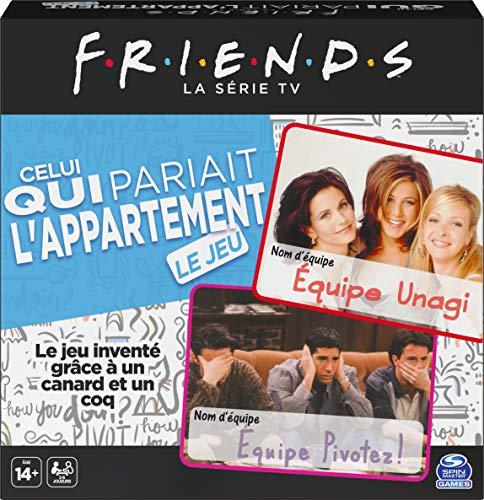 Jeu de questions Friends - Celui qui pariait l'appartement