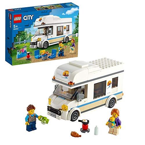 50% de réduction sur le second jouet Lego acheté (parmi une sélection) - Lot de 2 jeux de construction Lego City Le camping-car de vacances