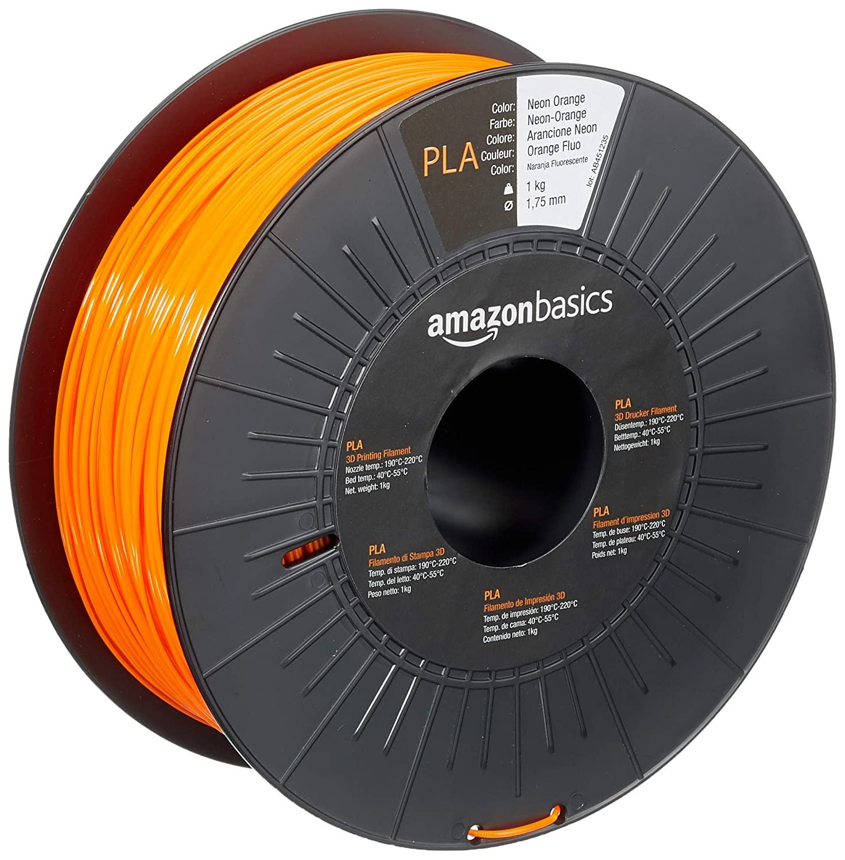 Bobines de filament PLA AmazonBasics pour imprimante 3D 1,75 mm - 1Kg