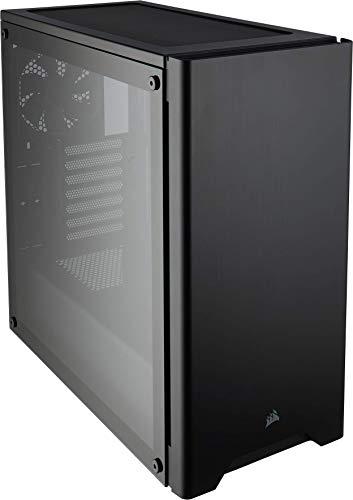 Boîtier PC Corsair Carbide 275R (Moyenne Tour ATX avec Fenêtre en Verre Trempé) - Noir