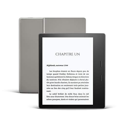 """Liseuse Kindle Oasis 7"""" avec température d'éclairage ajustable - 8 Go, Wi-Fi, Graphite (+ 5.40€ en RP) - Boulanger"""