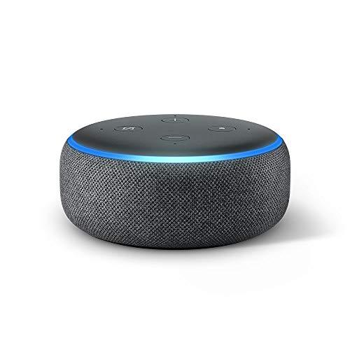 Sélection d'assistants vocaux / enceintes connectées Amazon en promotion - Ex : Echo Dot 3 (3ème génération)