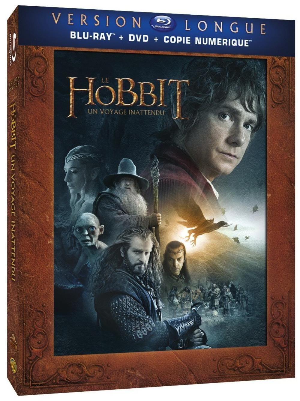 Blu-ray : Le Hobbit : Un voyage inattendu (version Longue)