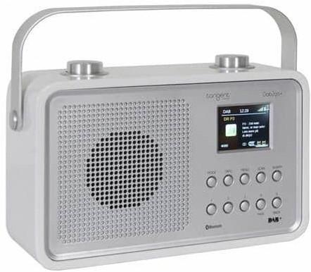 Radio portable Bluetooth Tangent Dab 2Go+ BT - blanc