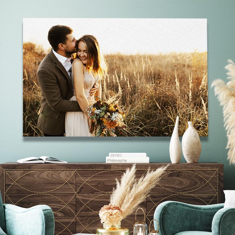 Sélection de photos sur toile en promotion à partir de 13,93€ + Livraison gratuite - Ex : Toile 60x40 cm
