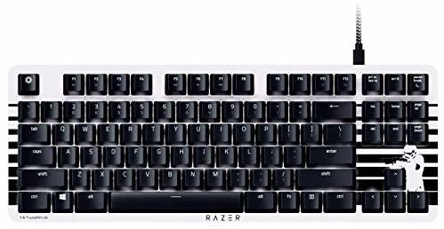 Clavier Razer Blackwidow Lite Édition Stormtrooper - switches orange, QWERTY