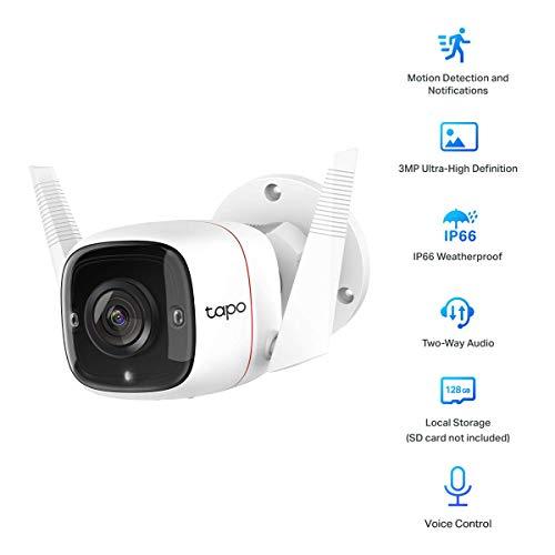 Caméra extérieure TP-Link Tapo C310 - 1080P, IP66
