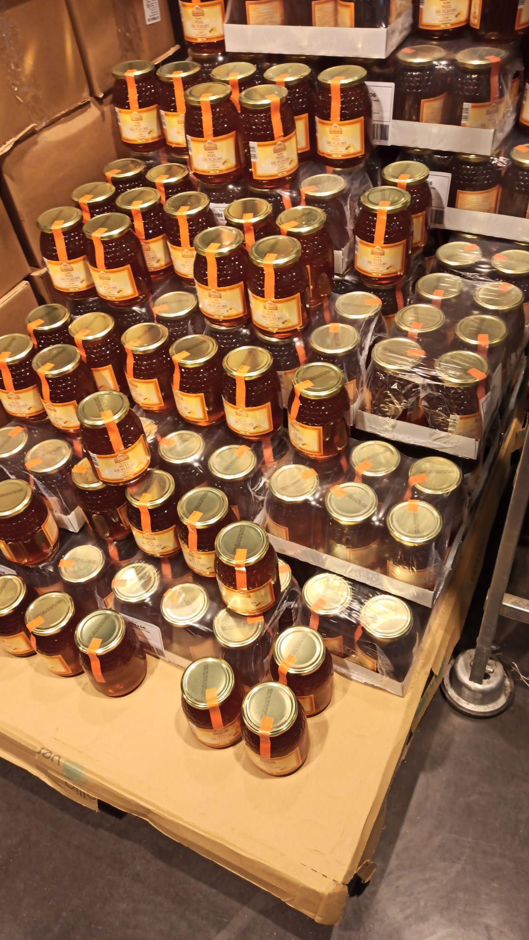 3 pots de Miel de fleurs - 3 x 1kg