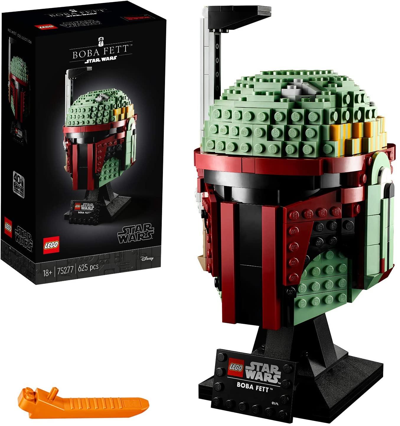 Sélection de jouets Lego Star Wars en promotion (via remise fidélité) - Ex : Le casque de Boba Fett 75276 (via 13,75€ en fidélité)