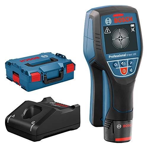 Coffret scanner mural Bosch Professional D-Tech 120 (12V) - avec batterie et chargeur