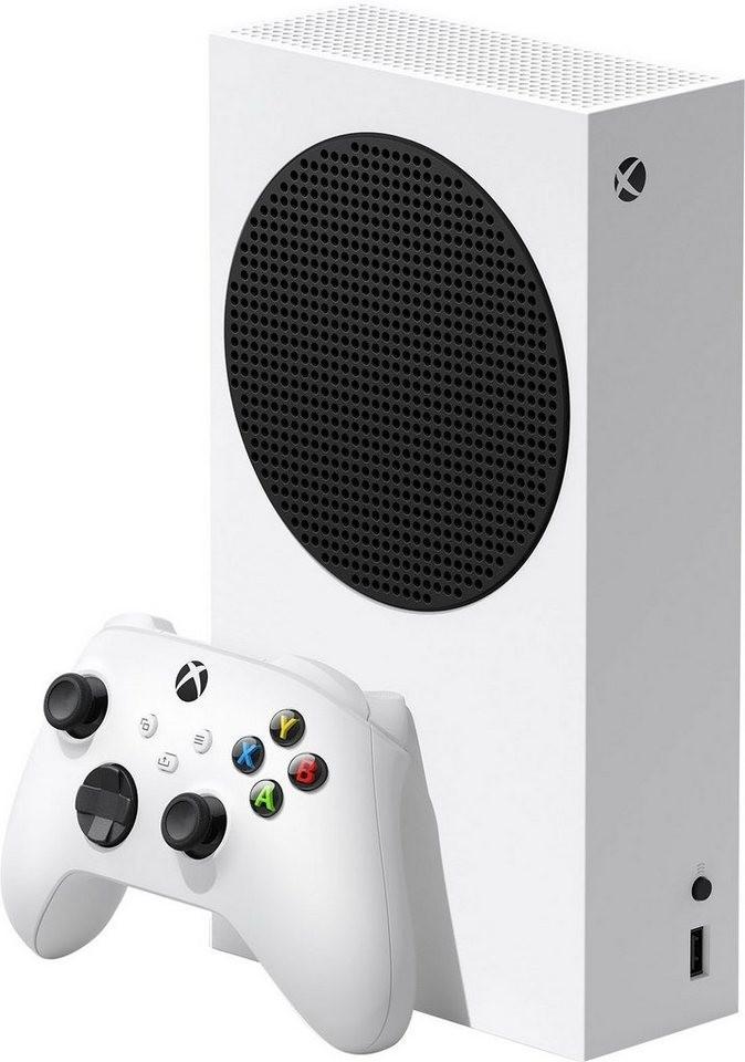 Pack console Microsoft Xbox Series S (512 Go) + 2ème manette Xbox (blanc ou noir) + 3 mois d'abonnement Xbox Game Pass Ultimate