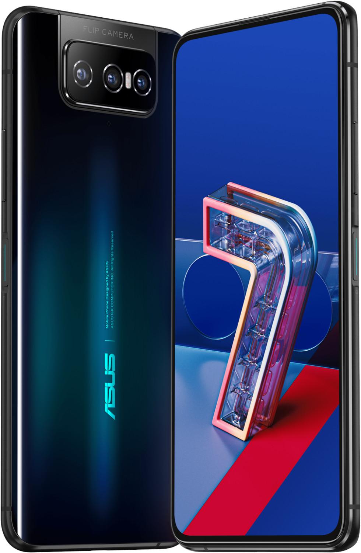 "Pack smartphone 6.67"" Asus Zenfone 7 Pro 5G (full HD+, AMOLED 90 Hz, SnapDragon 865+, 8 Go RAM, 256 Go) + écouteurs sans-fil Sporty BT V985"